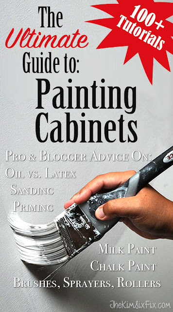 Kim Six's Ultimate Guide to Painting Cabinets