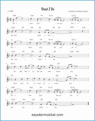 deed i do lagu jazz standar