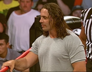 WCW New Blood Rising 2000 -  Bret Hart appeared on the show