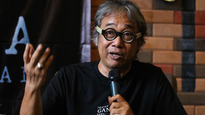 Butet Kartaredjasa Sakit Hati Lihat Perlakuan Menteri Jokowi kepada Seniman