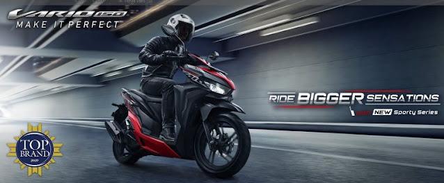 motor-matik-150cc-terbaik-termurah-2021-all-new-honda-vario-150