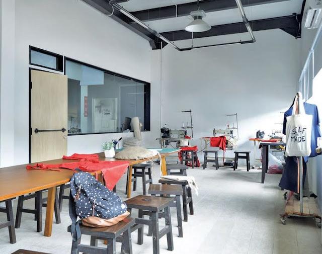 Setengah Pabrik Kayu Disulap Menjadi Hub Industri Kreatif Yang Modern