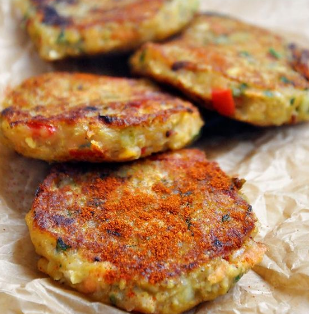 Spicy Vegan Lentil Cakes