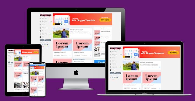 ZorexGrid Responsive Premium Blogger Template