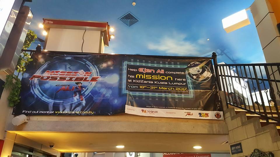 My Mom S Best Mission To Help Ejen Ali Kidzania Kuala Lumpur