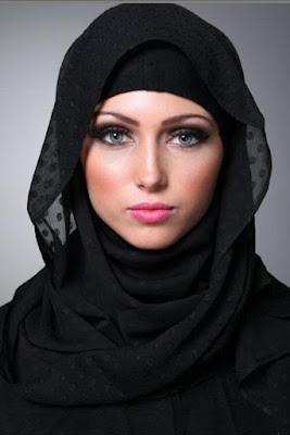 jilbab yg cocok untuk muka bulat