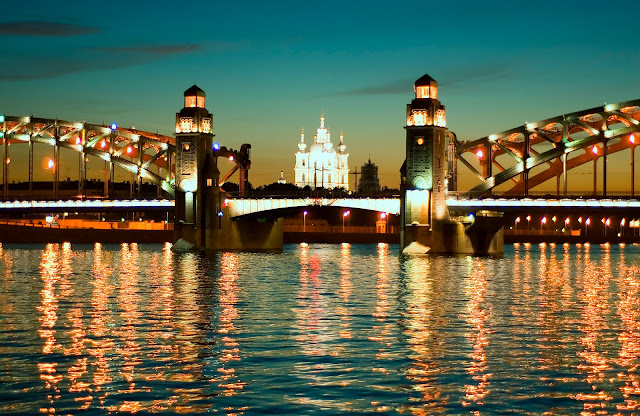 Санкт Петербург. Белые ночи