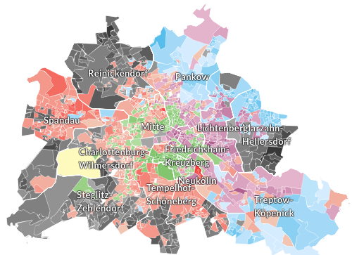 BrusselsBerlin This One Map Of Berlin Shows All You Need To Know - Berlin map east west