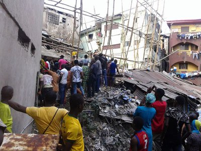 Updates: Death toll rises to five in Onitsha building collapse