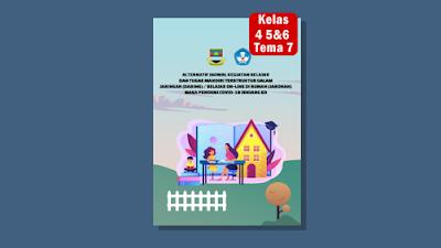 Modul Pembelajaran Daring Tema 7 Kelas 4 5 dan 6 SD/MI Semester 2 Kurikulum 2013