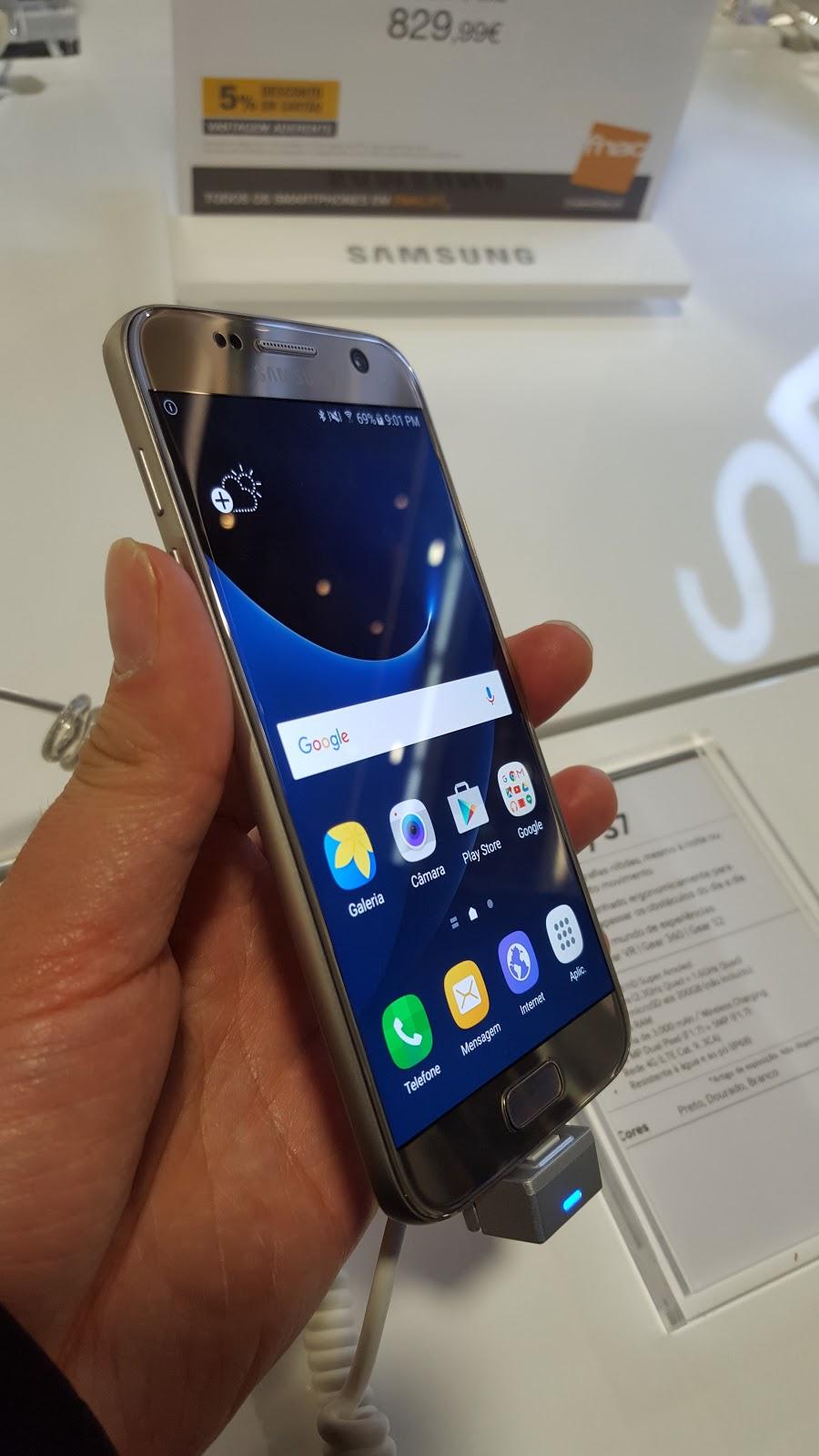 Samsung Galaxy S7 First Impressions - FeedingMobile