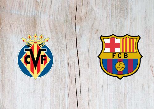 Villarreal vs Barcelona -Highlights 25 April 2021