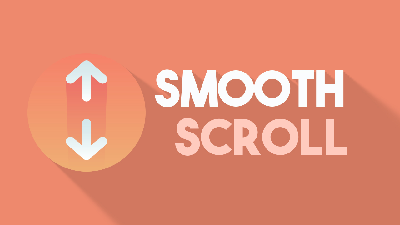 How to add smooth scroll on blogger