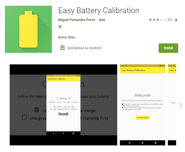 cara kalibrasi baterai android root