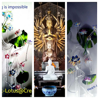 Sacred crystal lotus sacred crystal lotus flowers sample display sacred crystal lotus flower display set for your home offices create good feng shui for you and your family hand made to order crystals from swarovski mightylinksfo Image collections