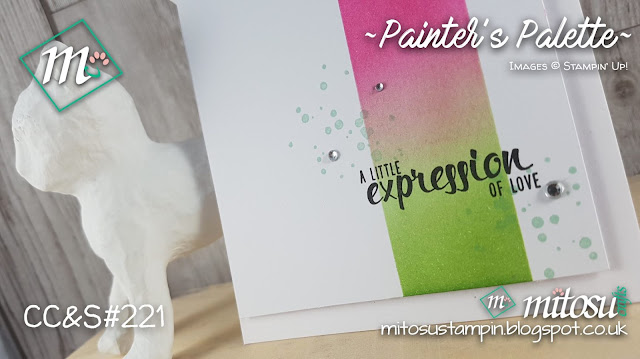 Jay Mitosu Stampin Up SU Painter's Palette Stamp Shop Online UK Cardmaking Papercraft 1