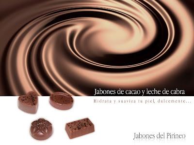 Jabón Natural de Leche de Cabra y Cacao