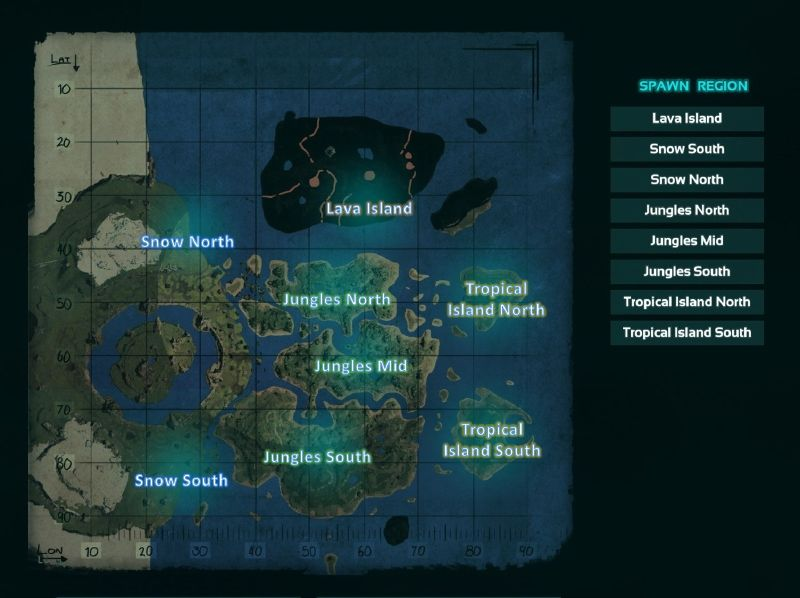 The Center - ARK Expansion Map