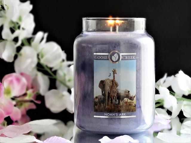 goose creek noah's ark candle, goose creek noah's ark avis, bougie goose creek