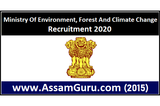 Ministry Of Environment, Forest And Climate Change Job 2020