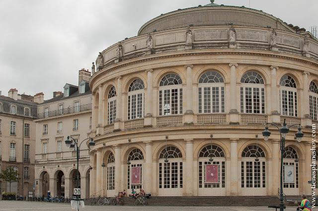 Ópera Rennes visita viaje Bretaña Normandia