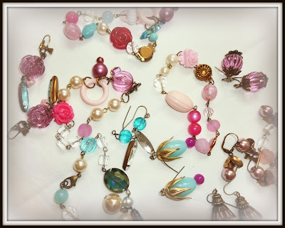 Pretty in Pink & Blue Jewelry