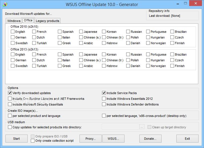 تحميل برنامج تحديث الويندوز بدون نت Wsus 2019 لويندوز 7 8 10