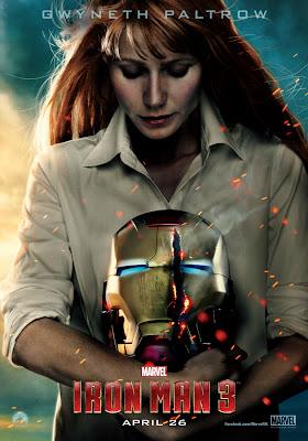 Iron Man 3 PEPPER POTTS Gwyneth Paltrow Character Banner