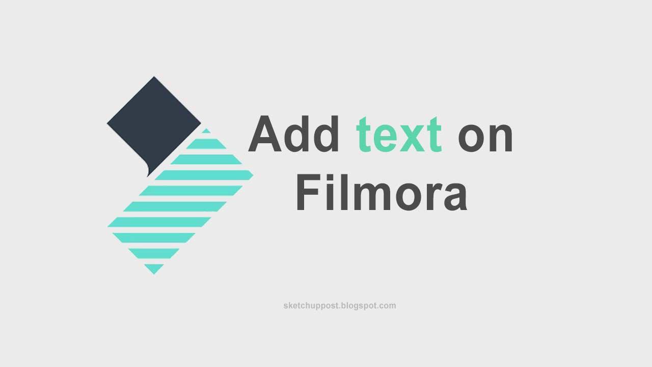 Cara Menambahkan Teks di Filmora