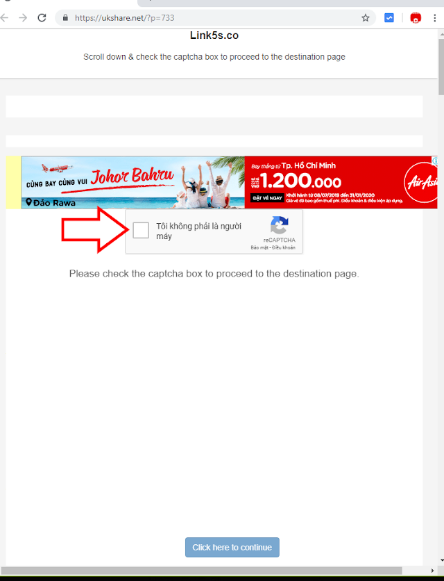 Cách tải file với link rút gọn Link5s.co