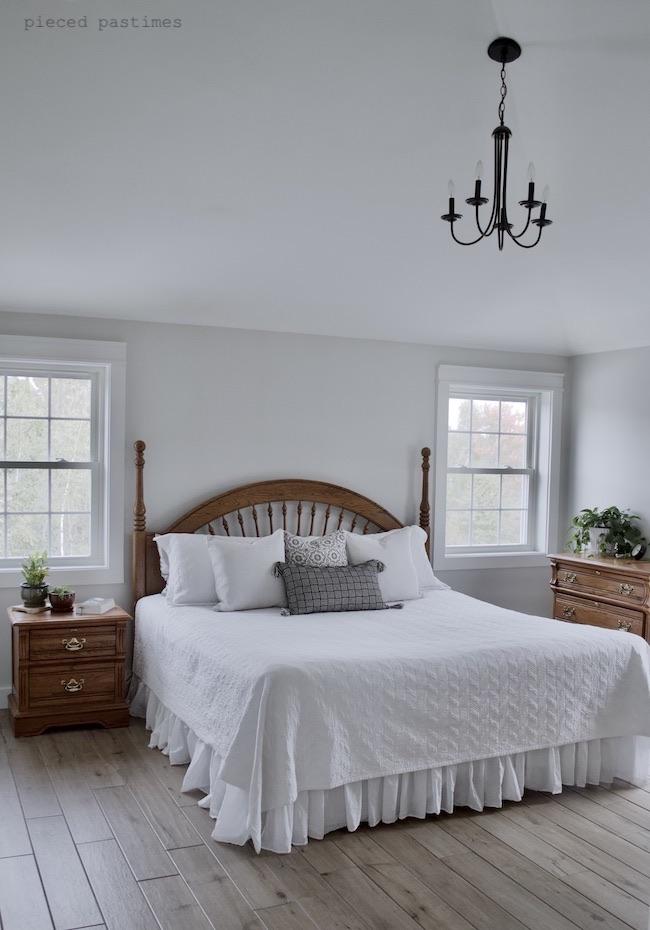 Pieced Pastimes Minimalist Bedroom Refresh