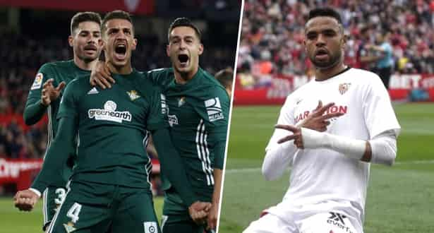 مباراة قوية بين إشبيلية و ريال بيتيس
