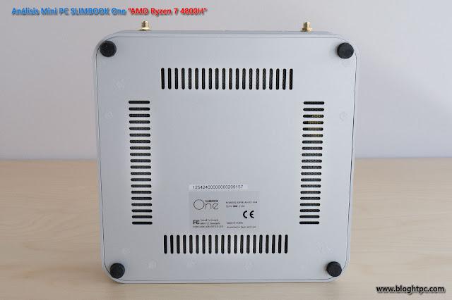 EXTERIOR MINIPC SLIMBOOK ONE AMD RYZEN 7 4800H