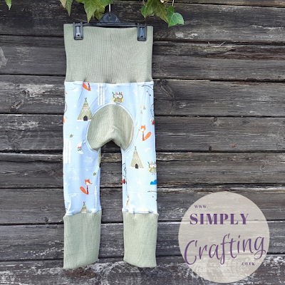 Max and Meena's Maxaloones Grow With Me Pants Sewing Project - Wild West