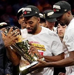 Kawhi Leonard NBA Finals MVP, Toronto Raptors beat Golden State Warriors to win first NBA Finals title 2019.
