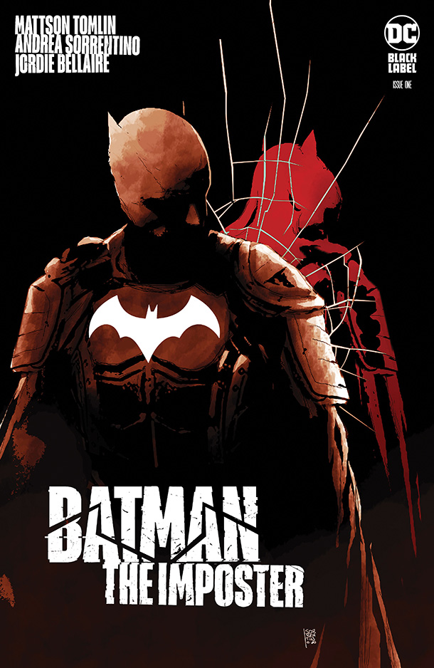 Batman: The Imposter #1 - Cover Two