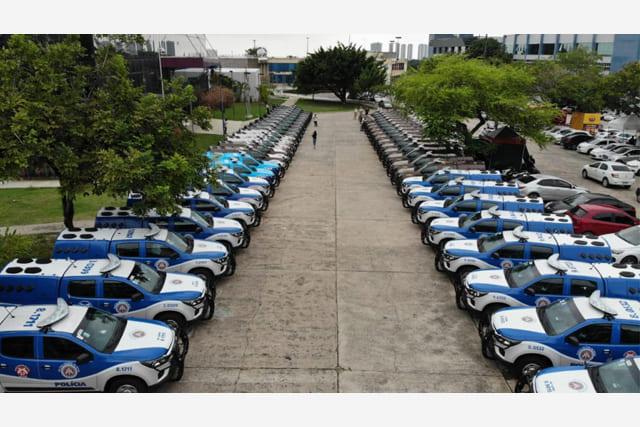 Governo da Bahia reforça segurança de 15 municípios com entrega de 50 viaturas