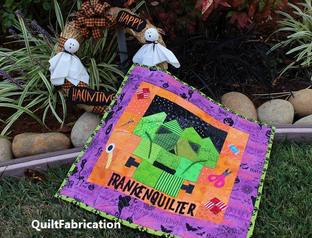 Frankenquilter and friends by QuiltFabrication