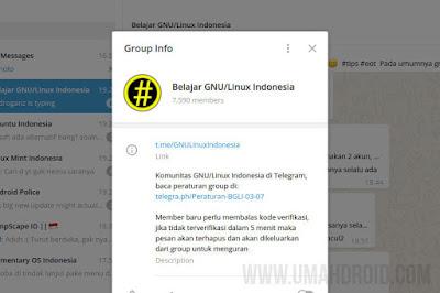 Join Dengan Grup Linux Telegram