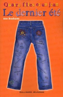 Quatre filles et un jean : le dernier été d'Ann Brashares