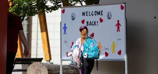 اليونيسف تنشر تقريرًا بكيفية العودة إلى المدارس في جائحة كوفيد-19؟
