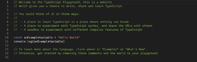 Typescript front-end web development