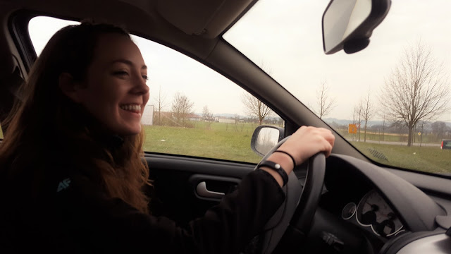 Learning to drive stick shift in Germany