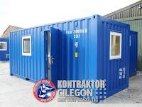 Kontraktor Cilegon: Jasa Modifikasi Kontainer menjadi Kantor di Cilegon