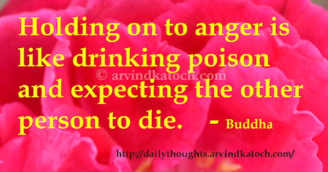 Buddha, Poison, die, Thought, Quote