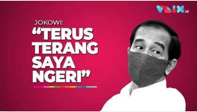 Presiden Jokowi kembali menyatakan betapa berbahayanya situasi dunia, khususnya Indonesia.