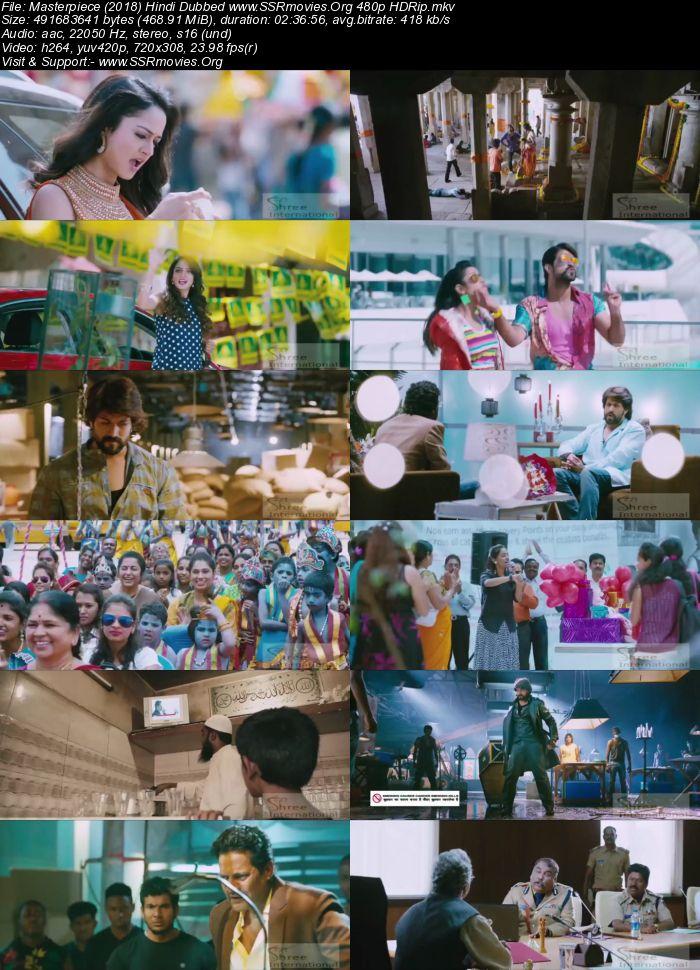 Masterpiece (2018) Hindi Dubbed 480p HDRip
