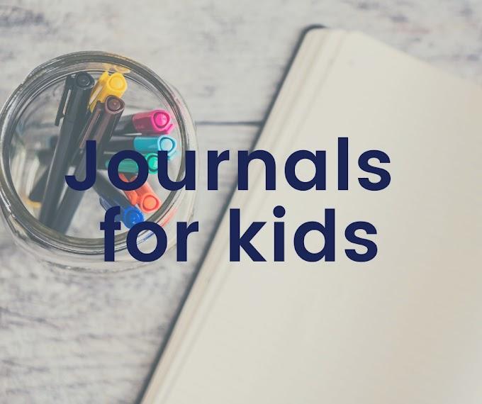 Journals for kids we love