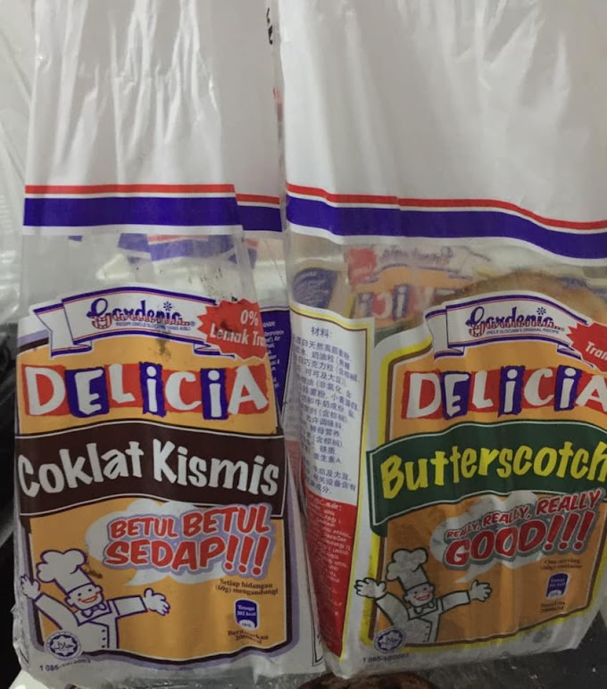 RESEPI | Roti Strawberi Peanut Butter