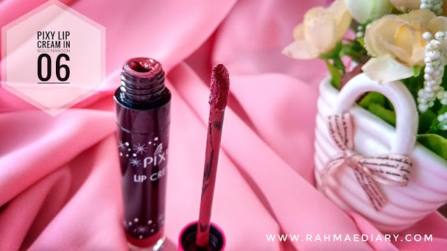 Pixy Lip Cream Bold Maroon